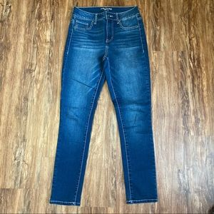 Maurice's Dark Wash High Rise Skinny Jegging Small